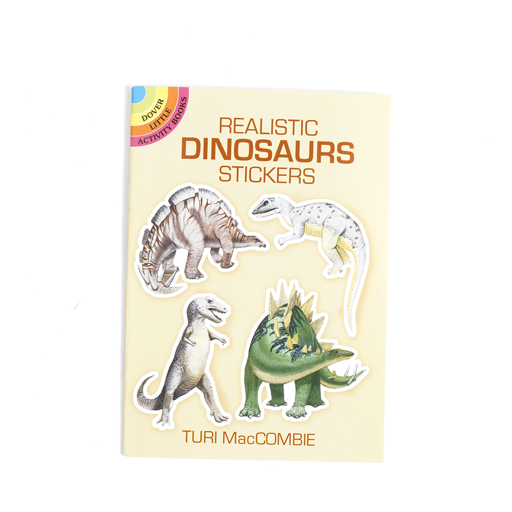 Dover, Little Sticker Book, Dinosaurs