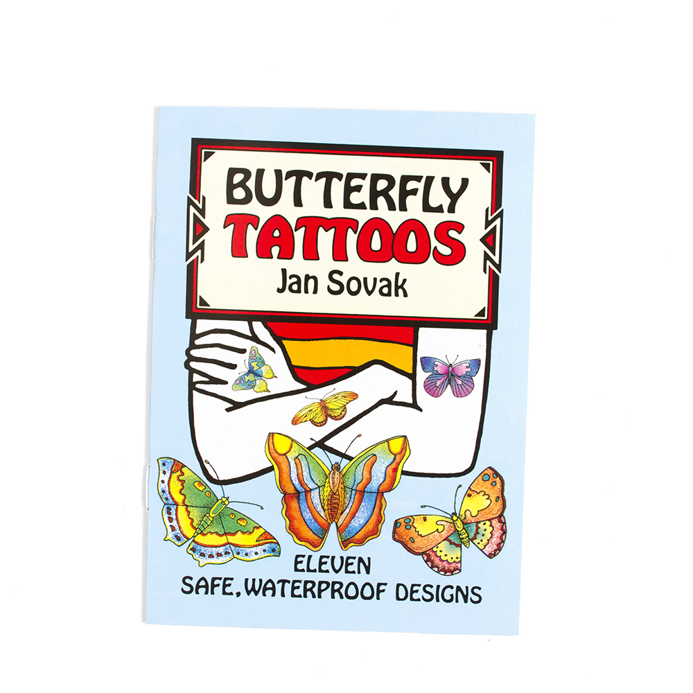 Dover, Little Tattoo Book, Butterflies