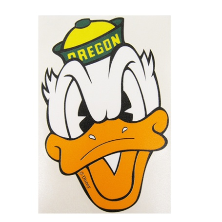 Duck Face Small Vinyl Transfer Decal - Outside 5