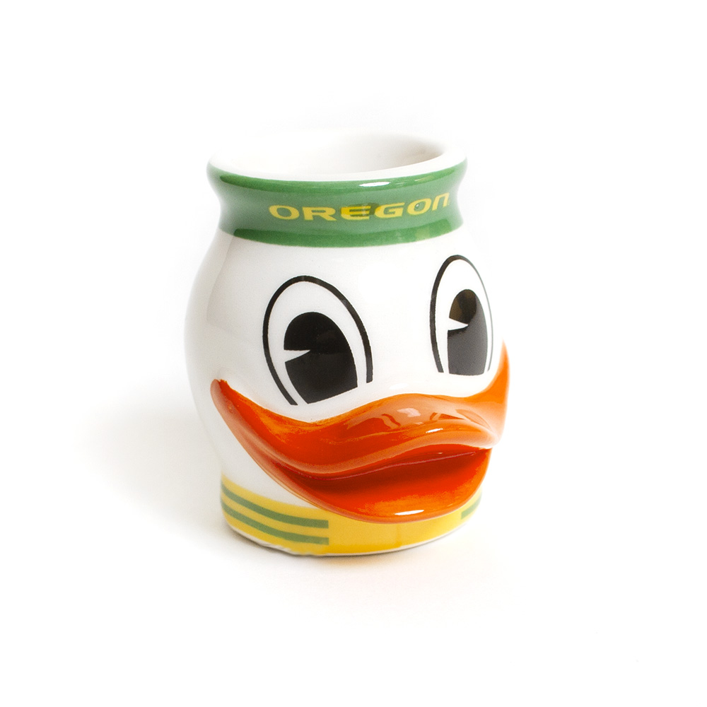 Oregon, Duck Mascot, Shot Glass