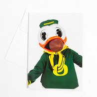 Duck, Mouth, Football, Greeting Card