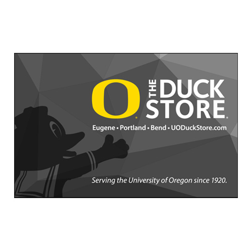 The Duck Store, Classic Oregon O, Gift Card