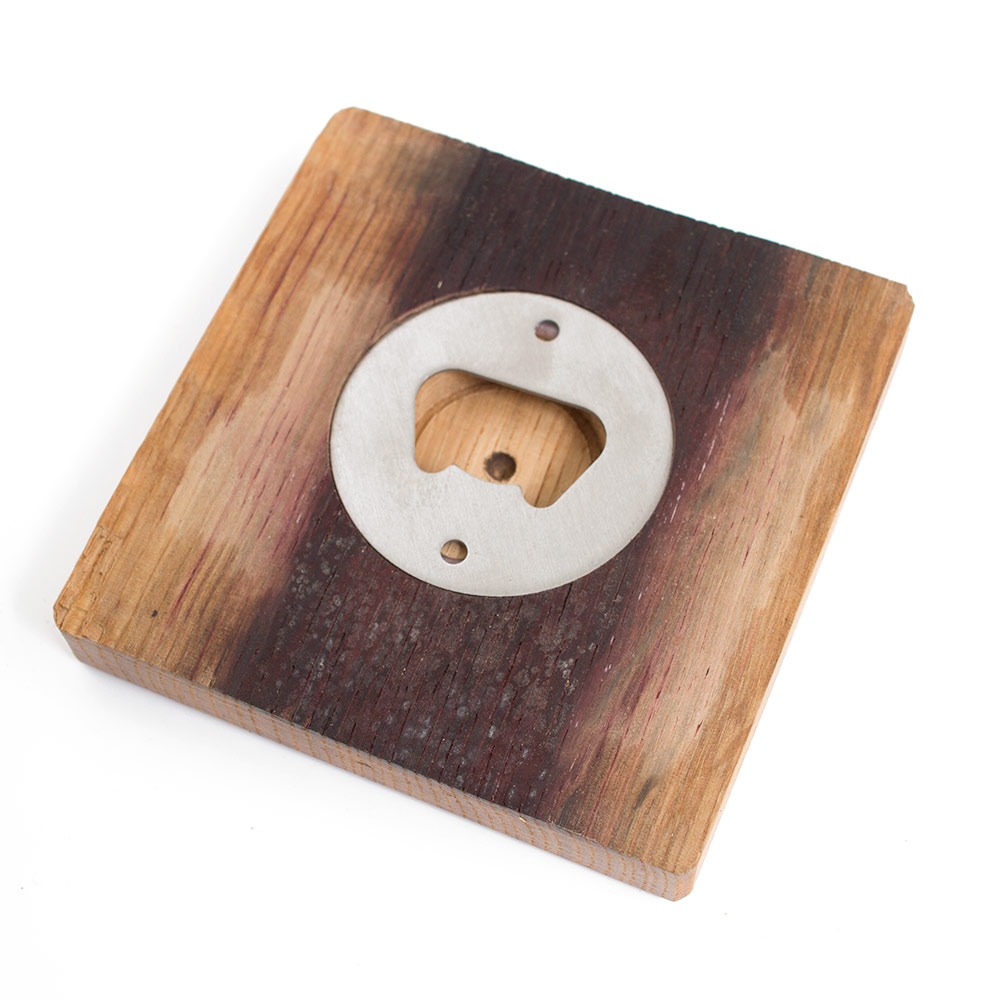 Duck Through O Barrel Stave Coaster Set