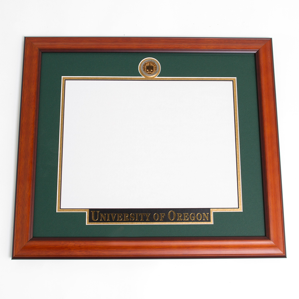 Elite Law Diploma Frame With Name Plate_Alder
