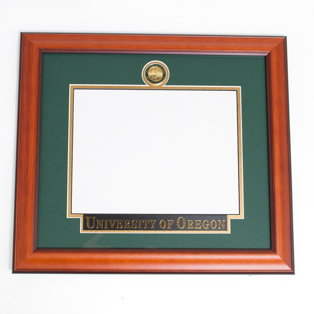 Elite Standard Diploma Frame With Name Plate_Alder