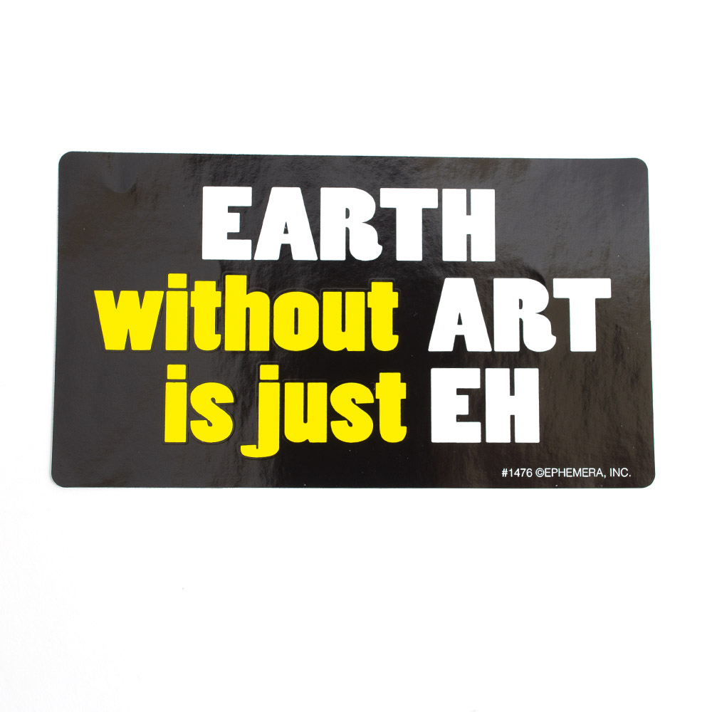 Ephemera, Vinyl Sticker