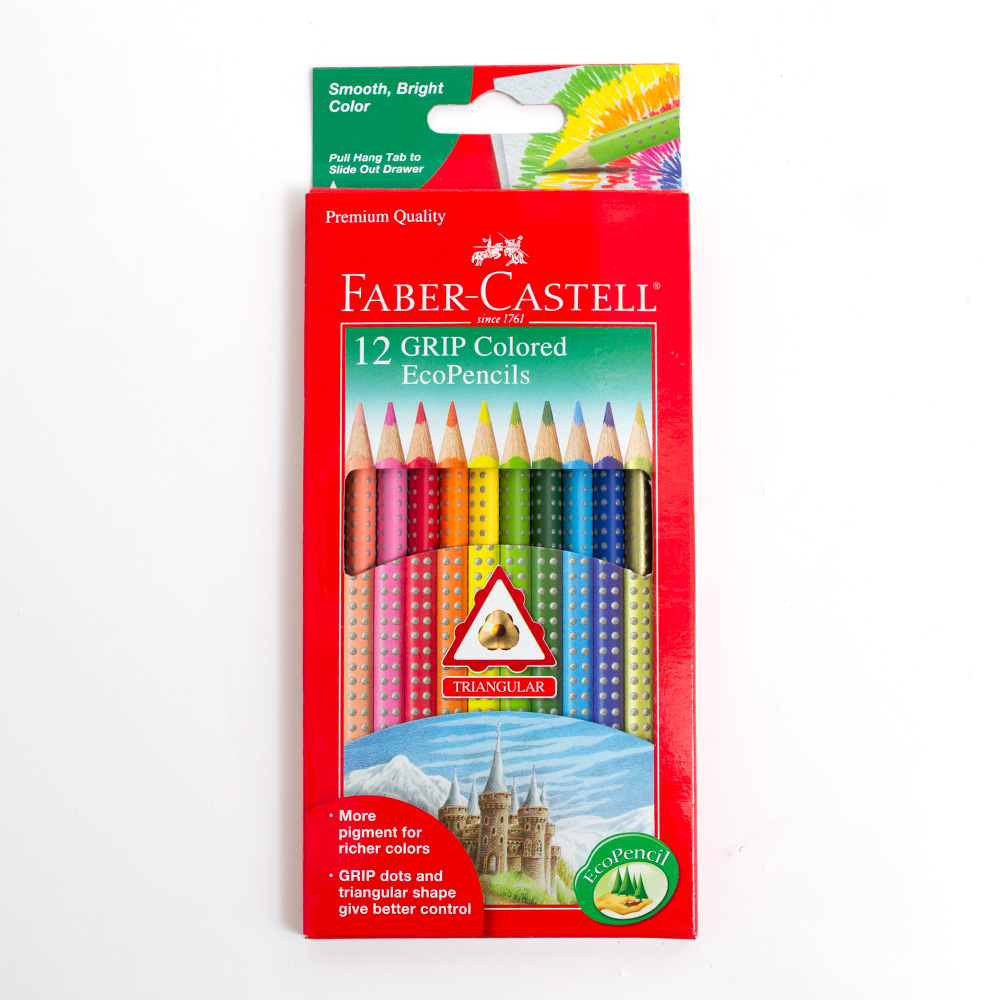 Faber Castel Grip Colored EcoPencil 12 Color Set