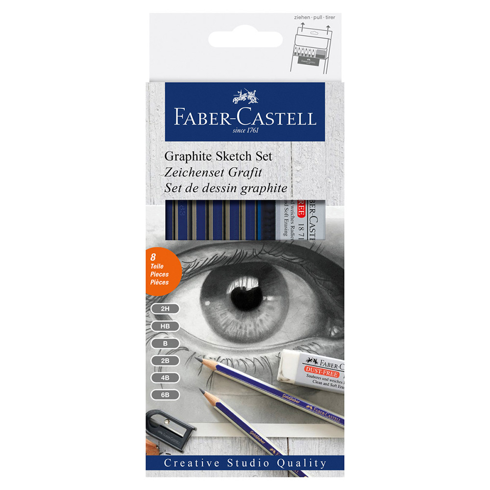 Faber Castell, Graphite, Sketch Set