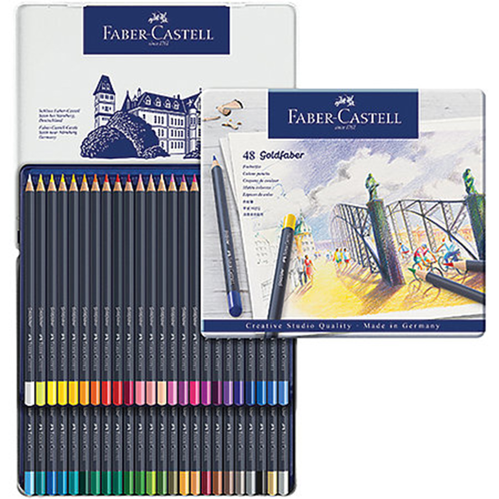 Faber Castell, Goldfaber, Color Pencil, Set