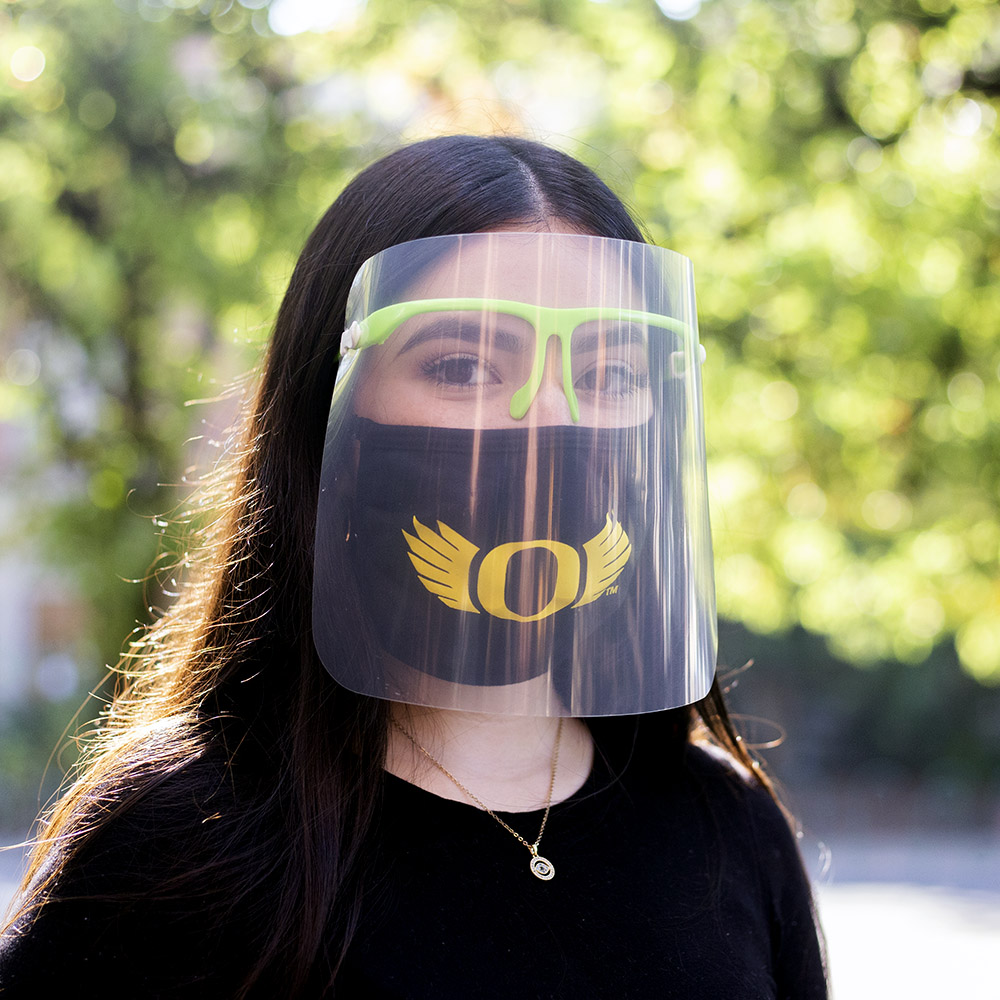 Face Shield, Eye Frame