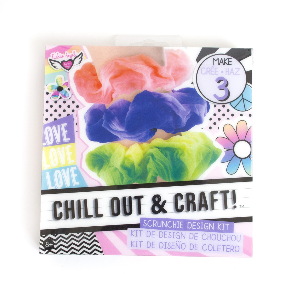 Fashion Angels, Chill Out & Craft, Kit, Scrunchie