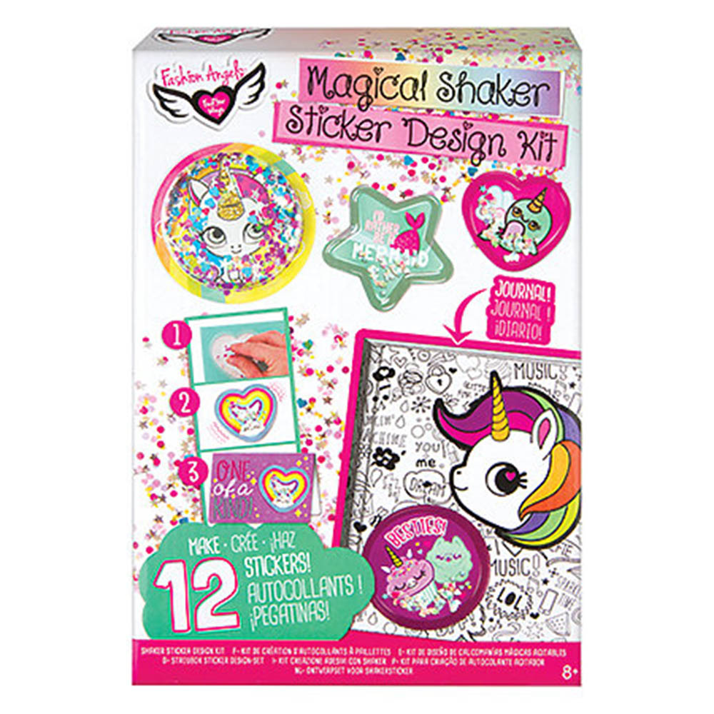 Fashion Angels, Sequins Sticker, Kit