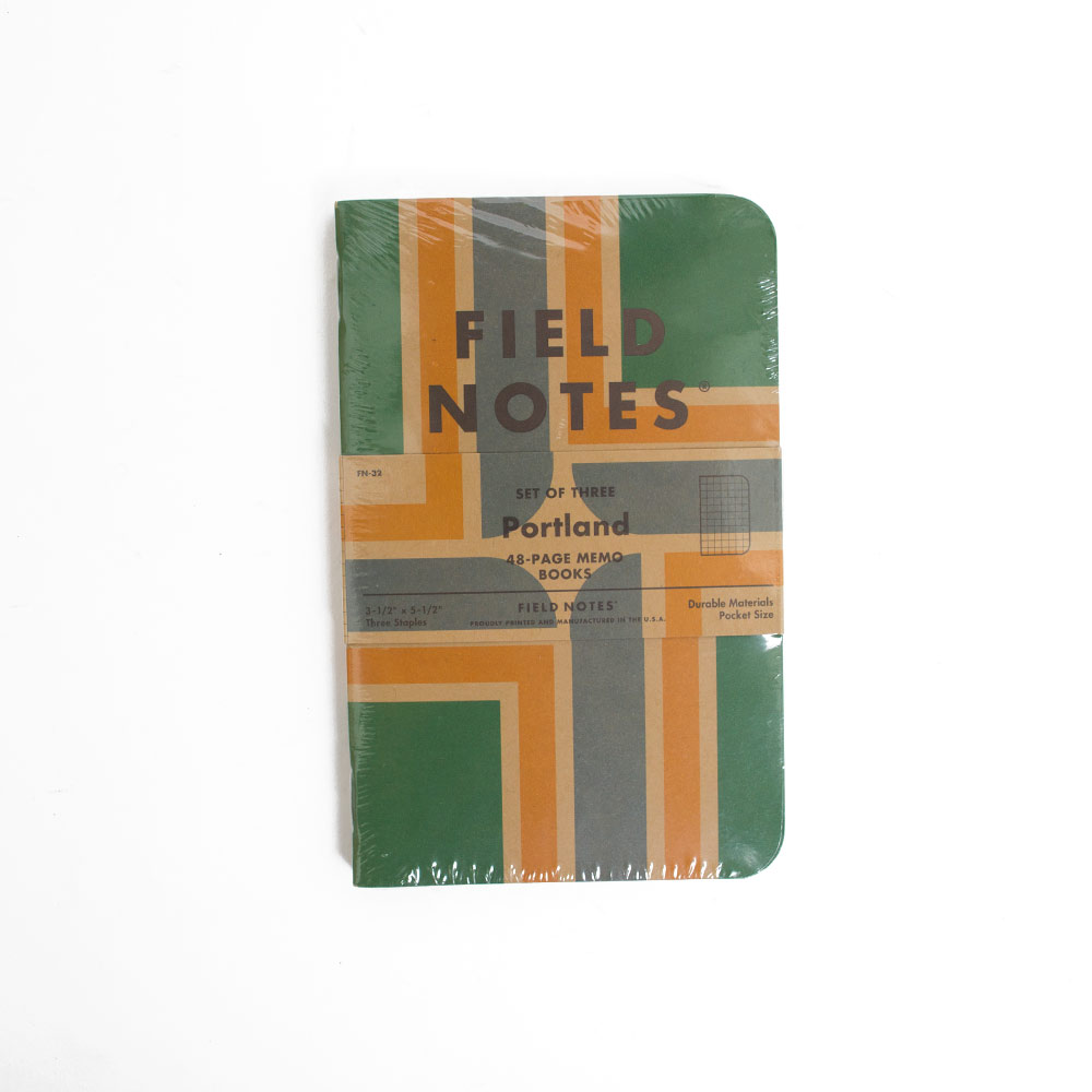 Field Notes, Portland, 3 pack
