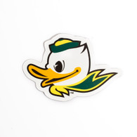 "Fighting Duck, 3"", Vinyl, Magnet"