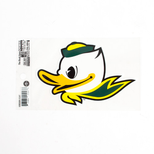 "Fighting Duck, 4""x6"", Decal, Outside"