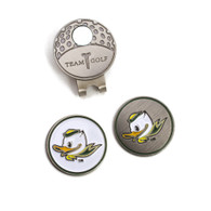 Fighting Duck, Golf, Hat Clip