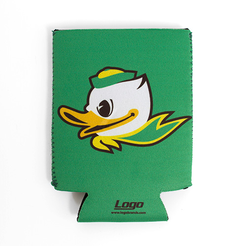 Flat Duck Face Can Coozie