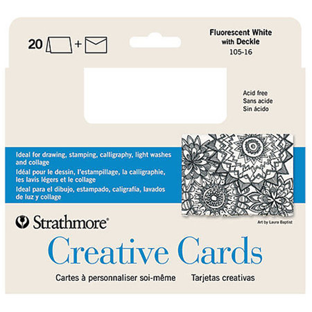 Strathmore, Creative Cards, 20 Pack
