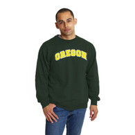 Arched Oregon, Basic, Fleece, Sweatshirt, Pullover