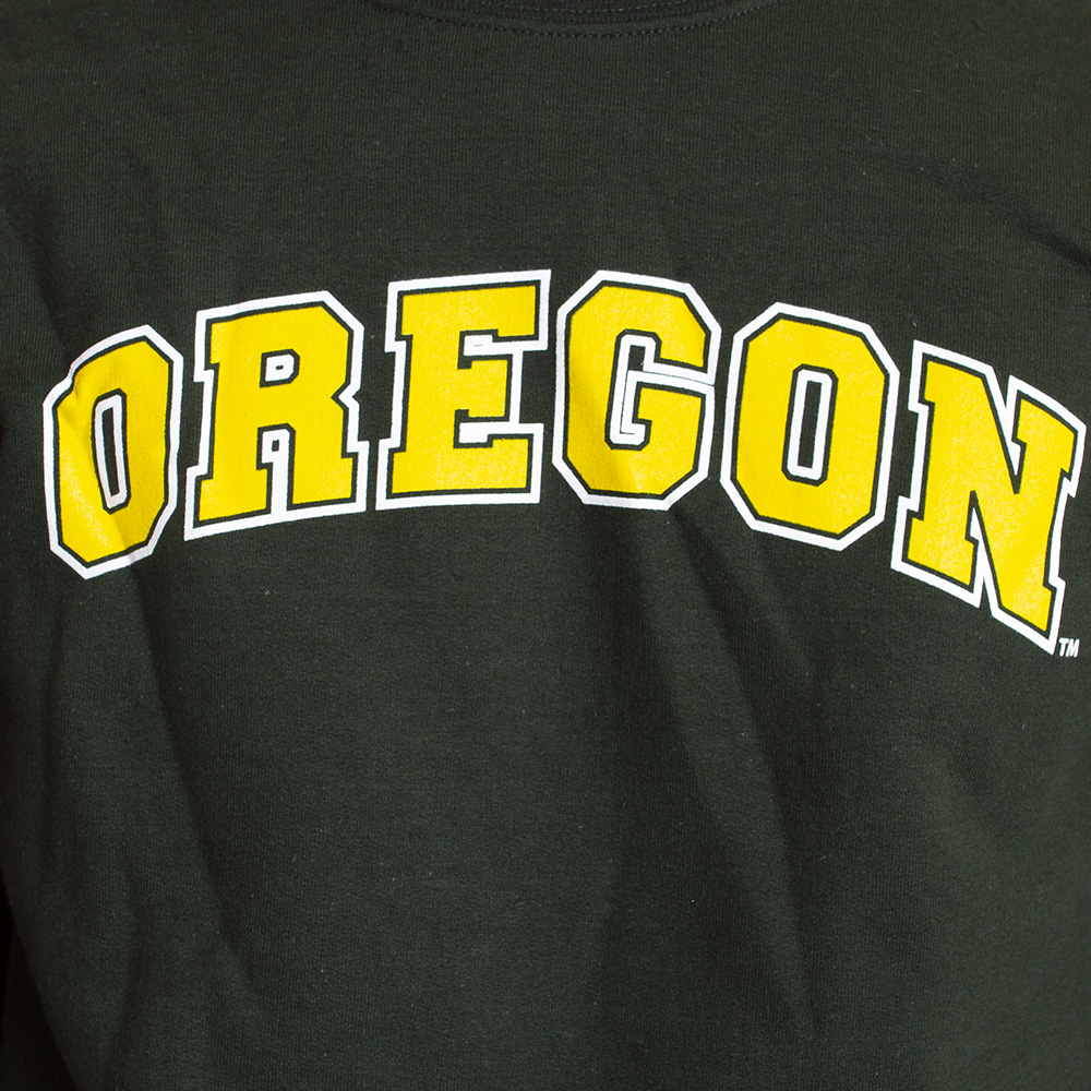 Arched Oregon, Basic, Fleece, Sweatshirt, Pullover, Graphic