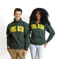 Arched Oregon, Pullover, 1/4-zip