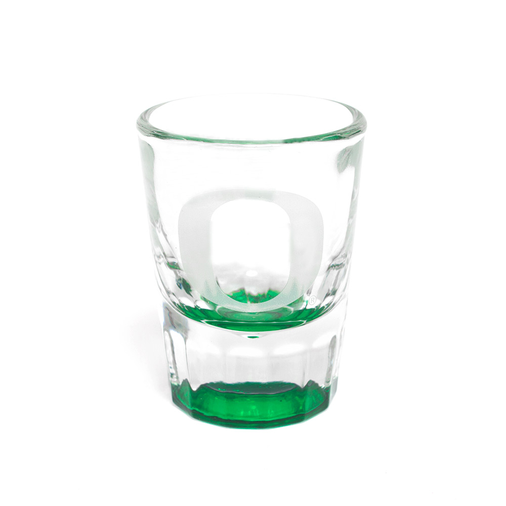 Classic Oregon O, Heavy, Shot Glass