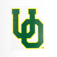 Forest Green Interlocking UO Decal