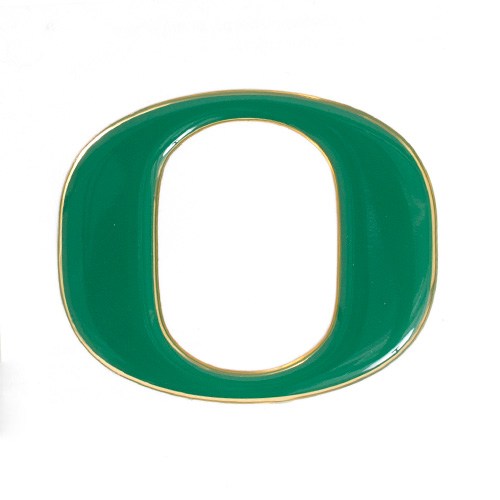 Forest Green O Logo Letter 3