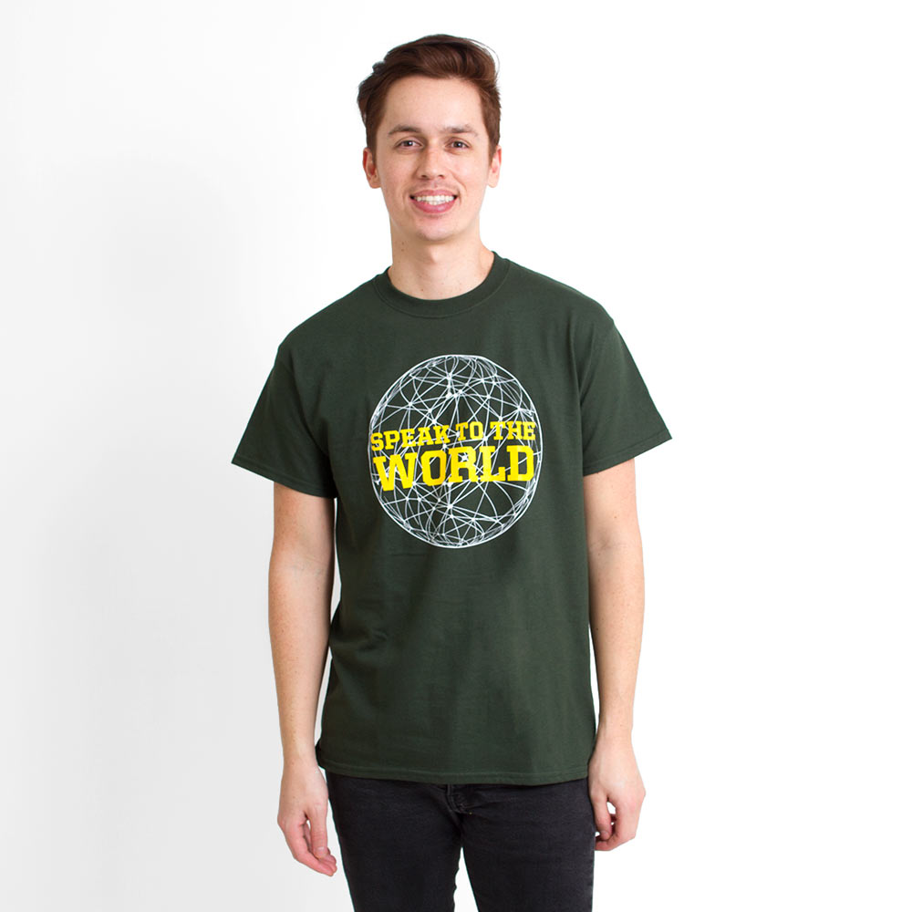 Speak to the World, Language, T-Shirt