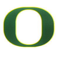 Classic Oregon O, Static Cling, Decal, Inside application, 4""