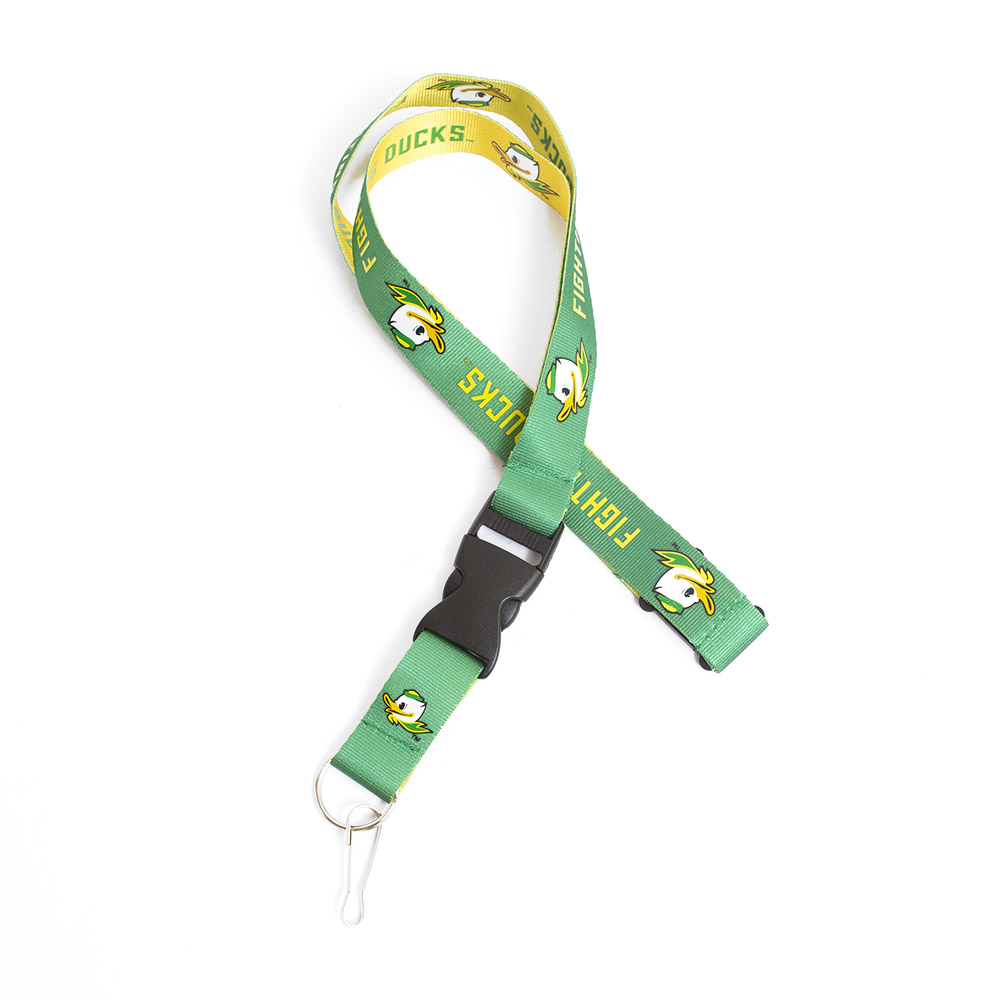 Fighting Duck, Reversible, Lanyard