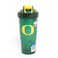 Forest Green and Yellow O Blender Bottle