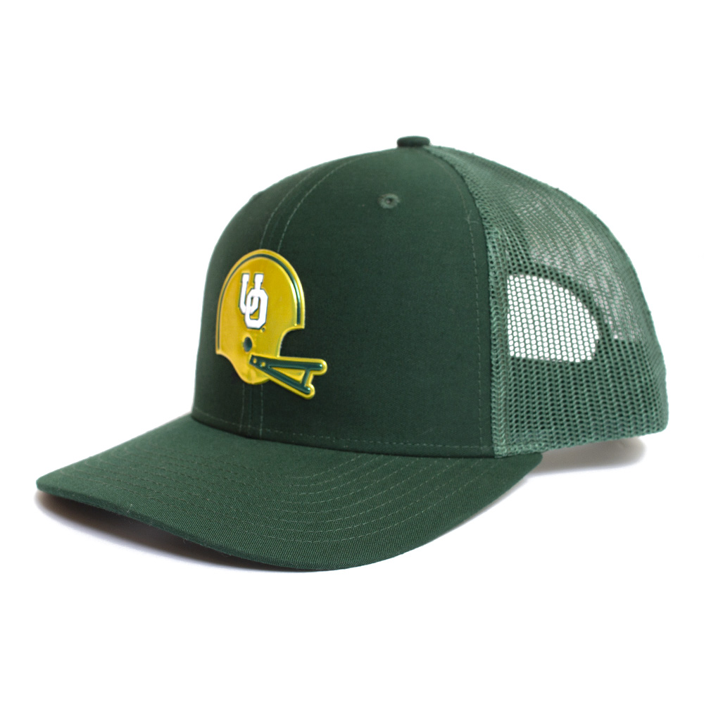 Interlocking UO, Richardson, Trucker, Hat, Green