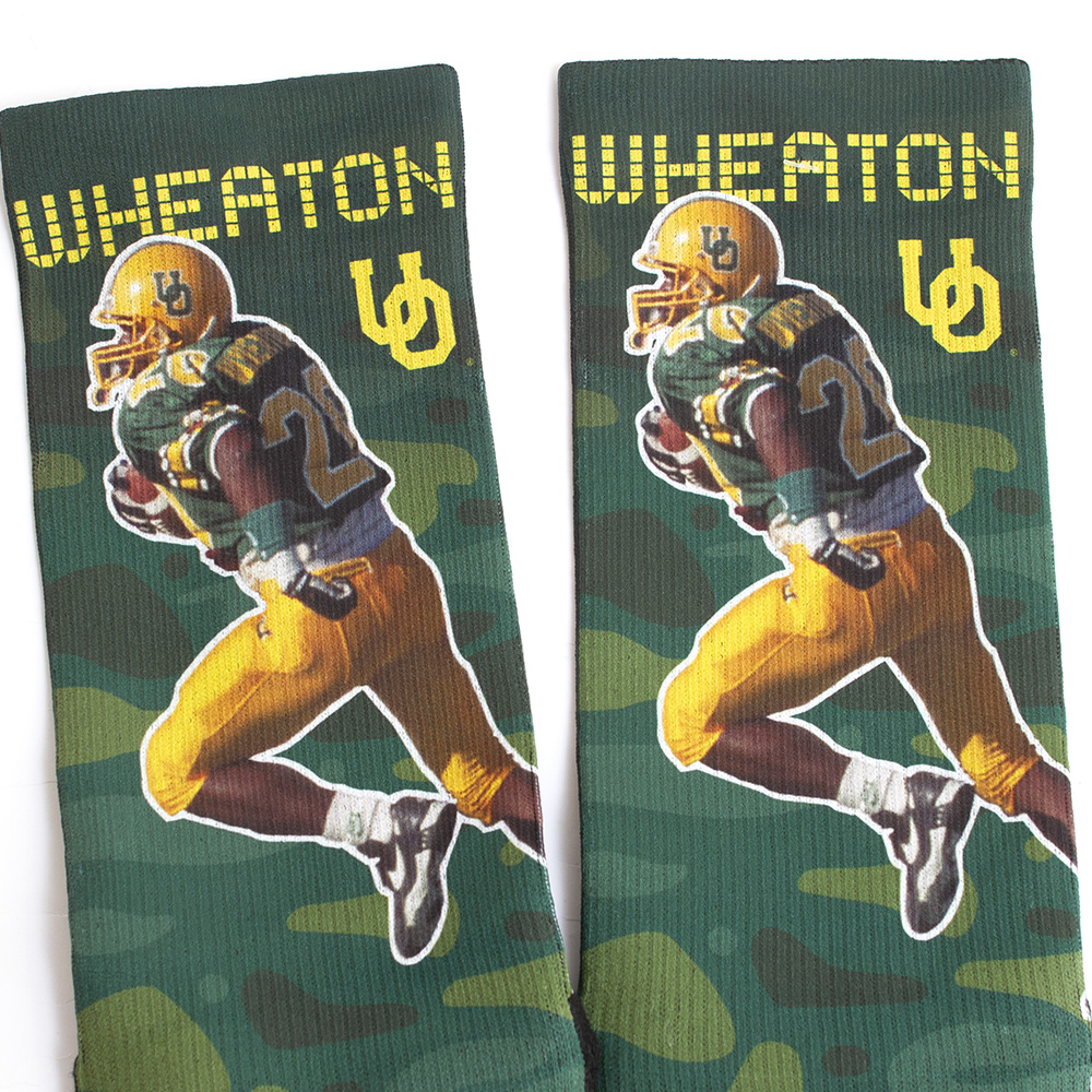 Strideline, Kenny Wheaton, Sublimated, Crew, Sock, Image