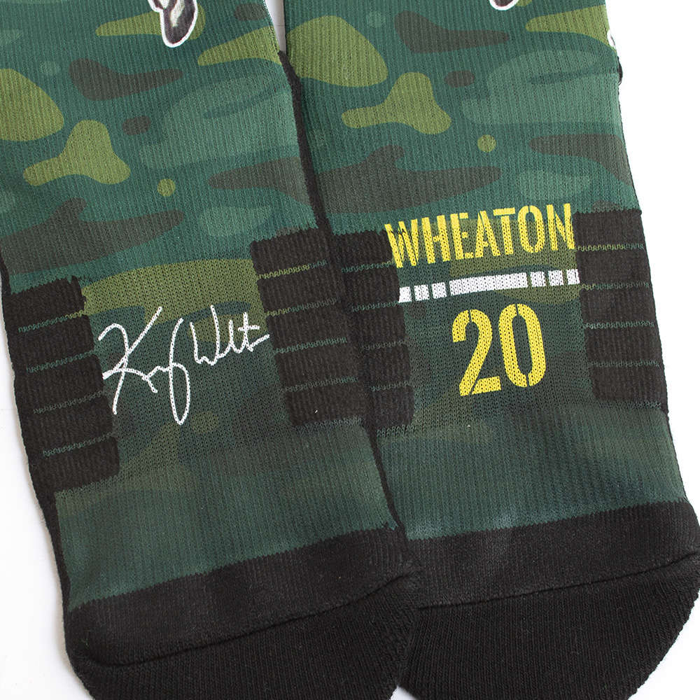 Strideline, Kenny Wheaton, Sublimated, Crew, Sock, 20, Signature