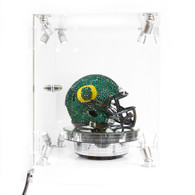 O-logo, Swarovski Crystal, Mini Helmet, Display Case