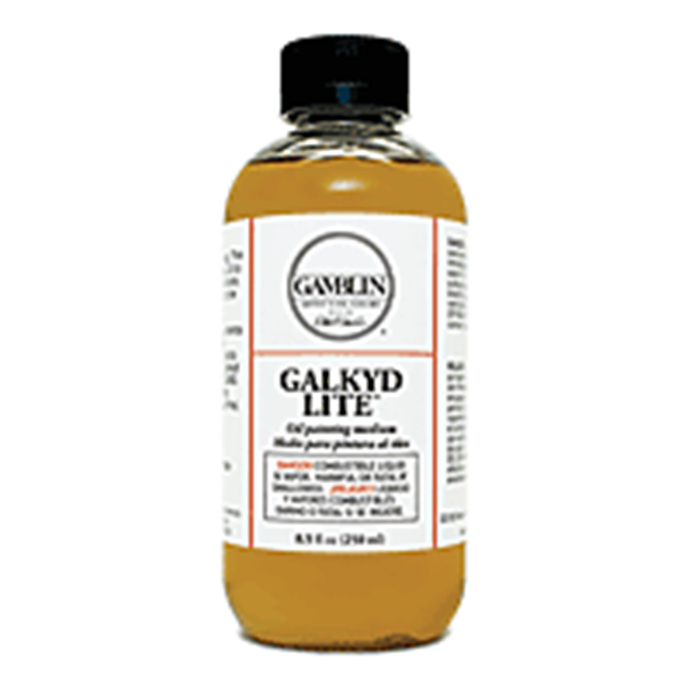Gamblin, Galkyd Lite, Medium, 8 Ounce