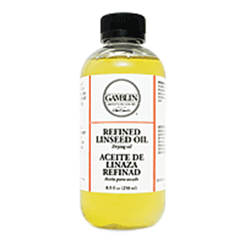 Gamblin, Refined, Linseed Oil