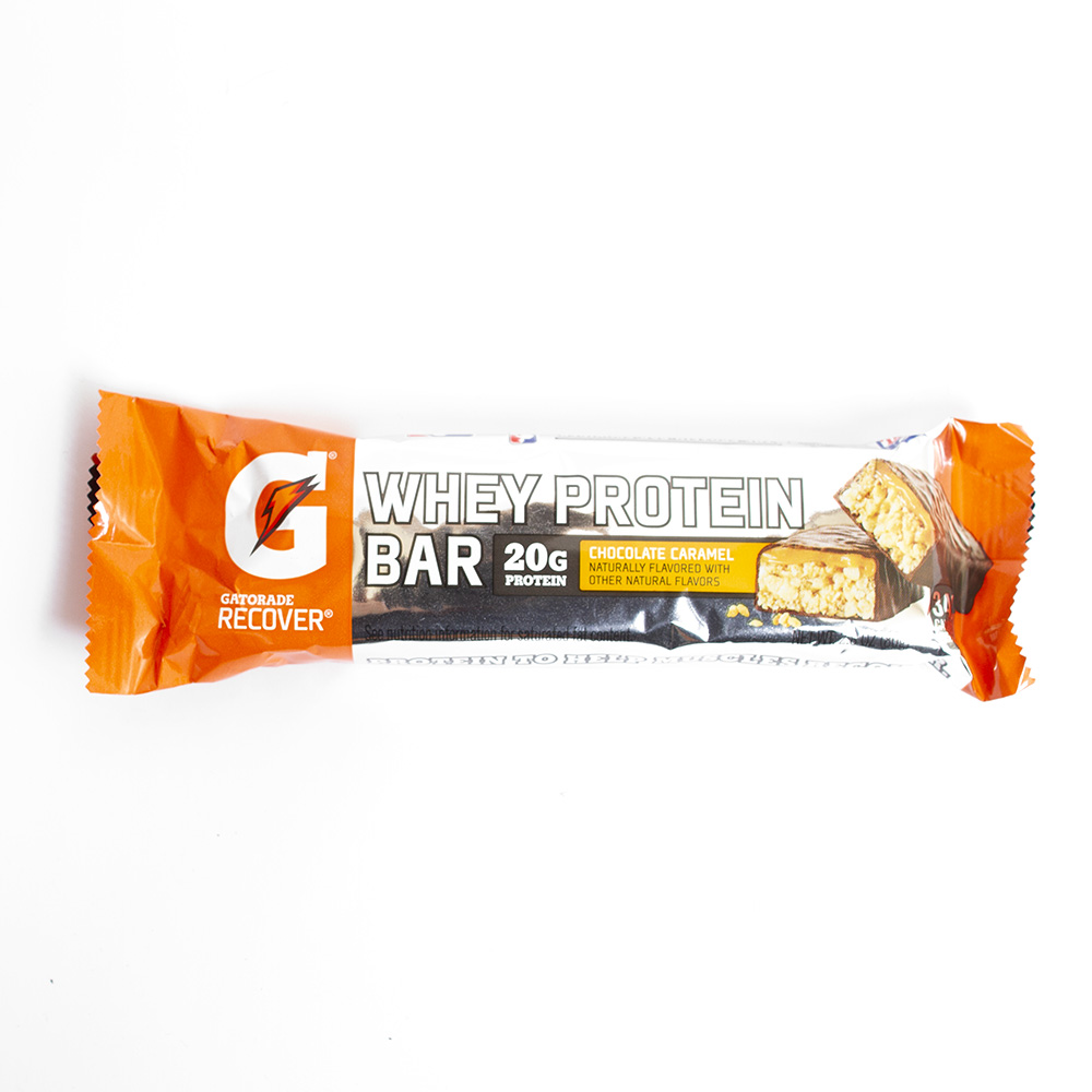Gatorade, Protein Bar, Chocolate Caramel