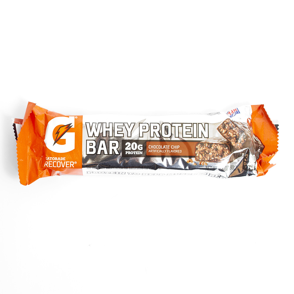 Gatorade, Protein Bar, Chocolate Chip