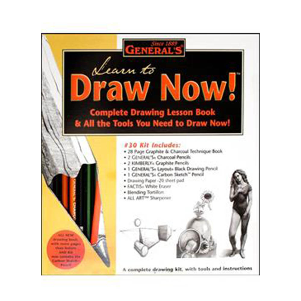 General's, Learn To Draw Now, Kit
