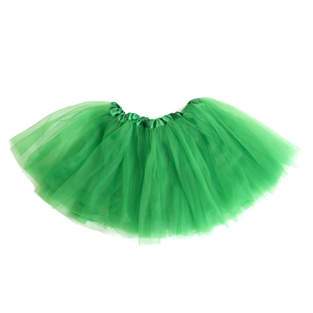 Youth, Girls Sized, Gameday, Tutu, Green
