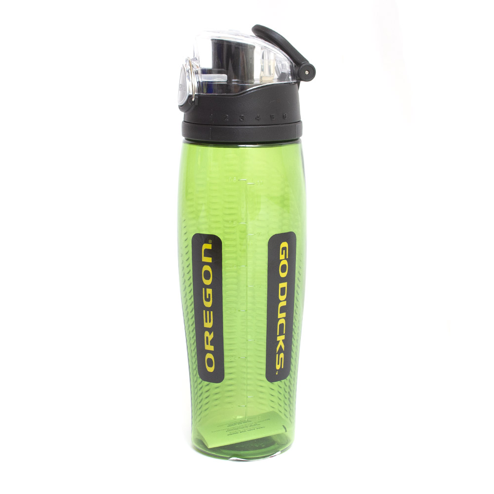 Go Ducks, Green, Intak, Sport Bottle