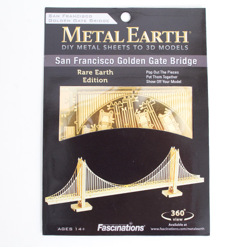 Metal Earth, Golden Gate Bridige