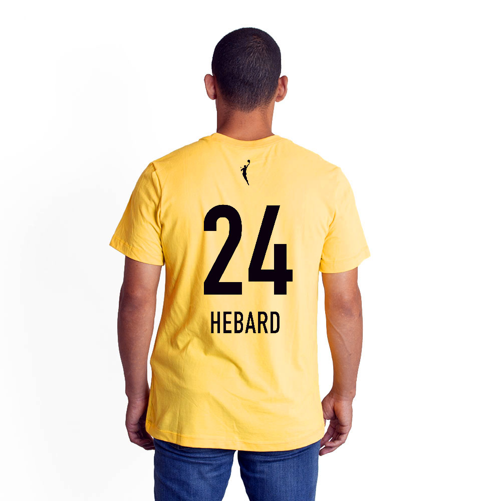 Nike, Chicago Sky, Number 24, Hebard, Jersey, T-Shirt