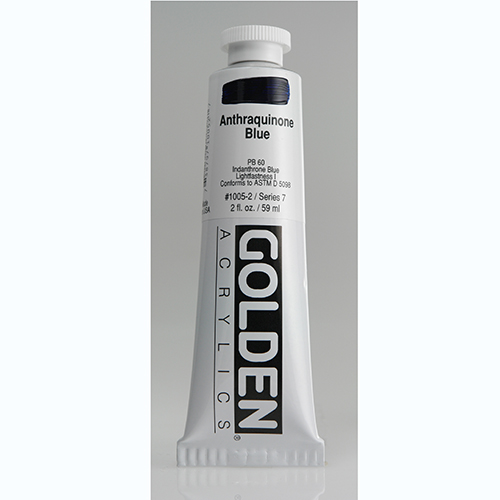 Golden Heavy Body Acrylic Paint 2oz_Anthraquinone Blue-1