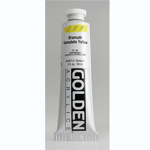 Golden Heavy Body Acrylic Paint 2oz_Bismuth Vanadate Yellow-1