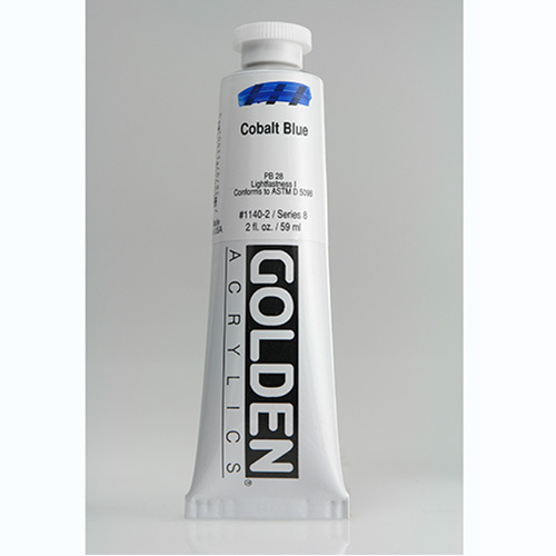Golden Heavy Body Acrylic Paint 2oz_Cobalt Blue-1