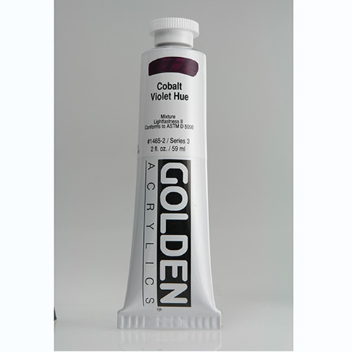 Golden Heavy Body Acrylic Paint 2oz_Cobalt Violet Hue