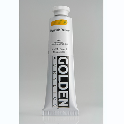 Golden Heavy Body Acrylic Paint 2oz_Diarylide Yellow
